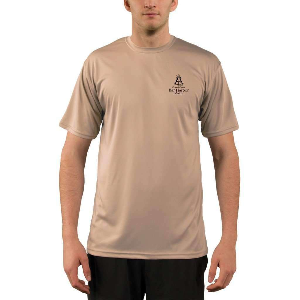 Coastal Classics Bar Harbor Mens Upf 50+ Uv/sun Protection Performance T-Shirt Shirt