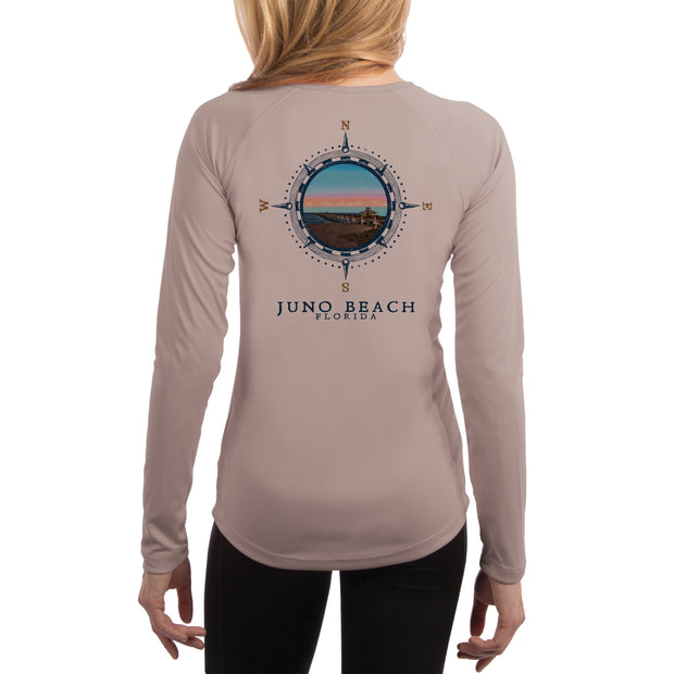 Compass Vintage Juno Beach Women's UPF 50+ Long Sleeve T-shirt