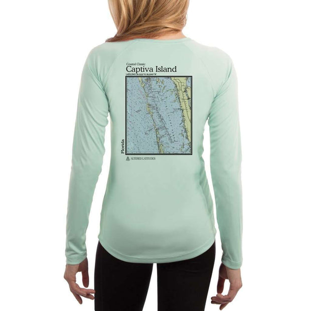 Coastal Classics Captiva Island Womens Upf 5+ Uv/sun Protection Performance T-Shirt Seagrass / X-Small Shirt