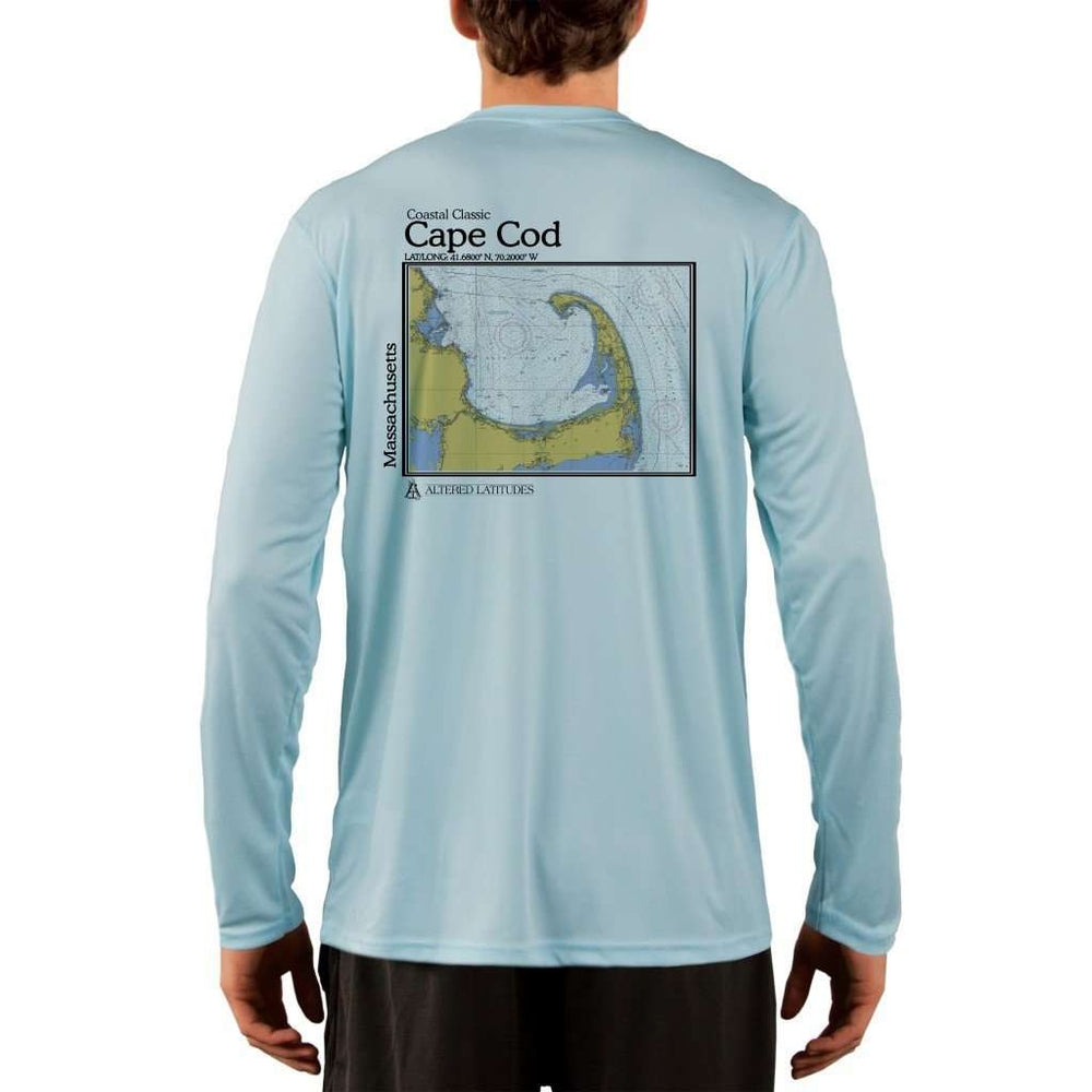 Coastal Classics Cape Cod Mens Upf 5+ Uv/sun Protection Performance T-Shirt Arctic Blue / X-Small Shirt