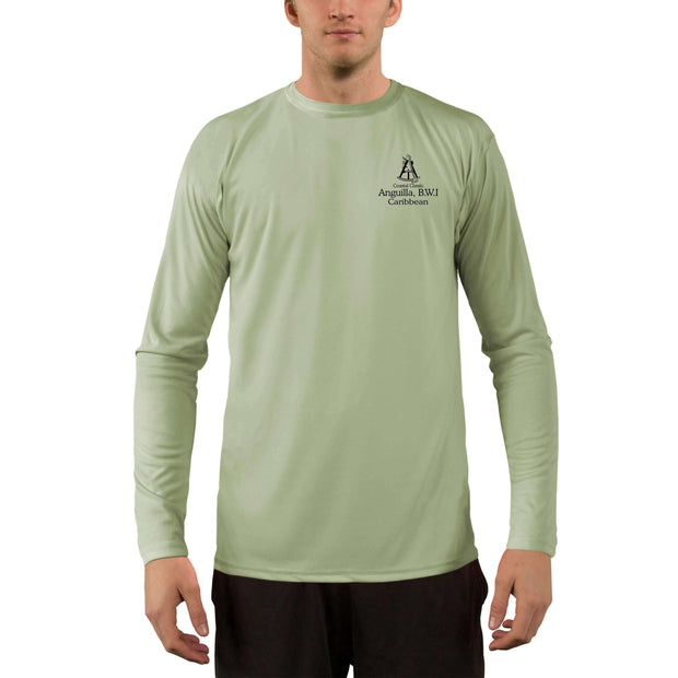 Coastal Classics Anguilla, B.W.I. Men's UPF 50+ UV/Sun Protection Performance T-shirt - Altered Latitudes