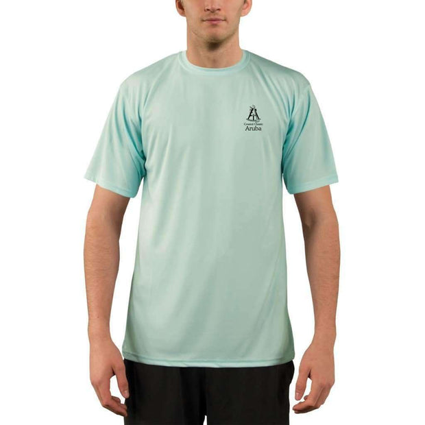 Coastal Classics Aruba Mens Upf 5+ Uv/sun Protection Performance T-Shirt Shirt