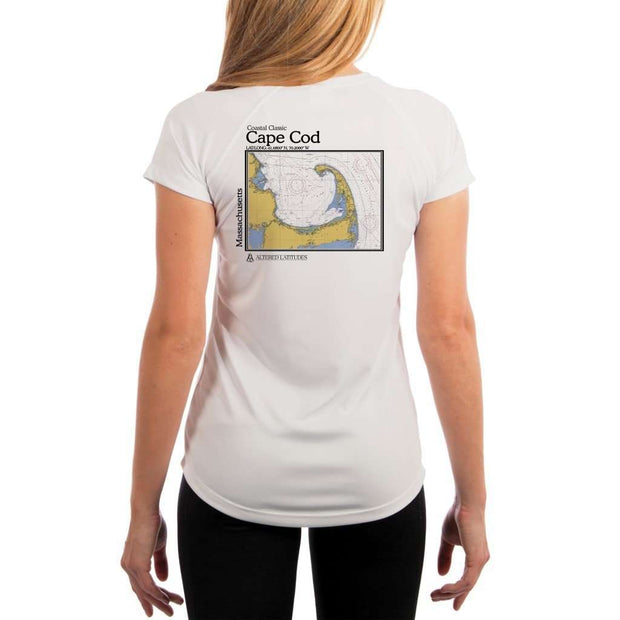Coastal Classics Cape Cod Womens Upf 5+ Uv/sun Protection Performance T-Shirt White / X-Small Shirt