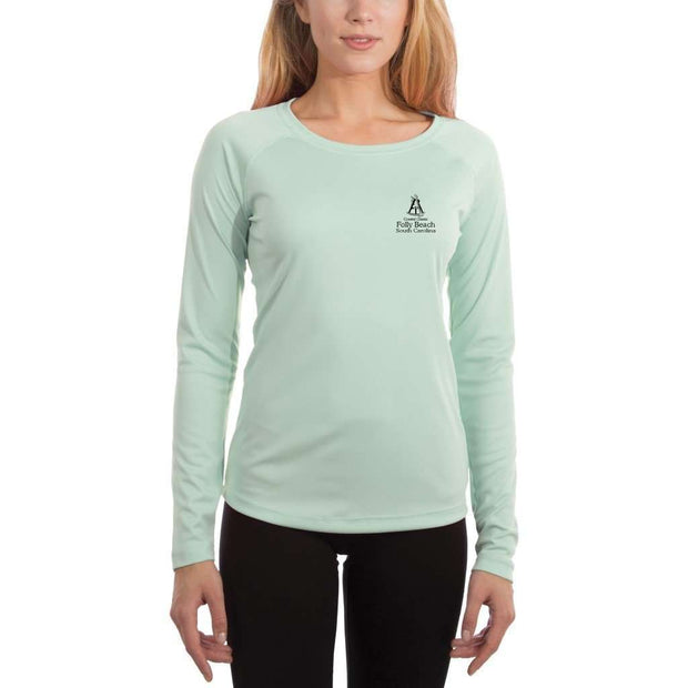Coastal Classics Folly Beach Women's UPF 50+ UV/Sun Protection Performance T-shirt