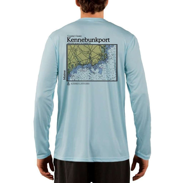 Coastal Classics Kennebunkport Men's UPF 50+ UV/Sun Protection Performance T-shirt - Altered Latitudes