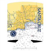 Altered Latitudes Santa Cruz Chart Standard Can Cooler (4-Pack)