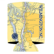 Altered Latitudes Wilmington, NC Chart Standard Can Cooler (4-Pack)