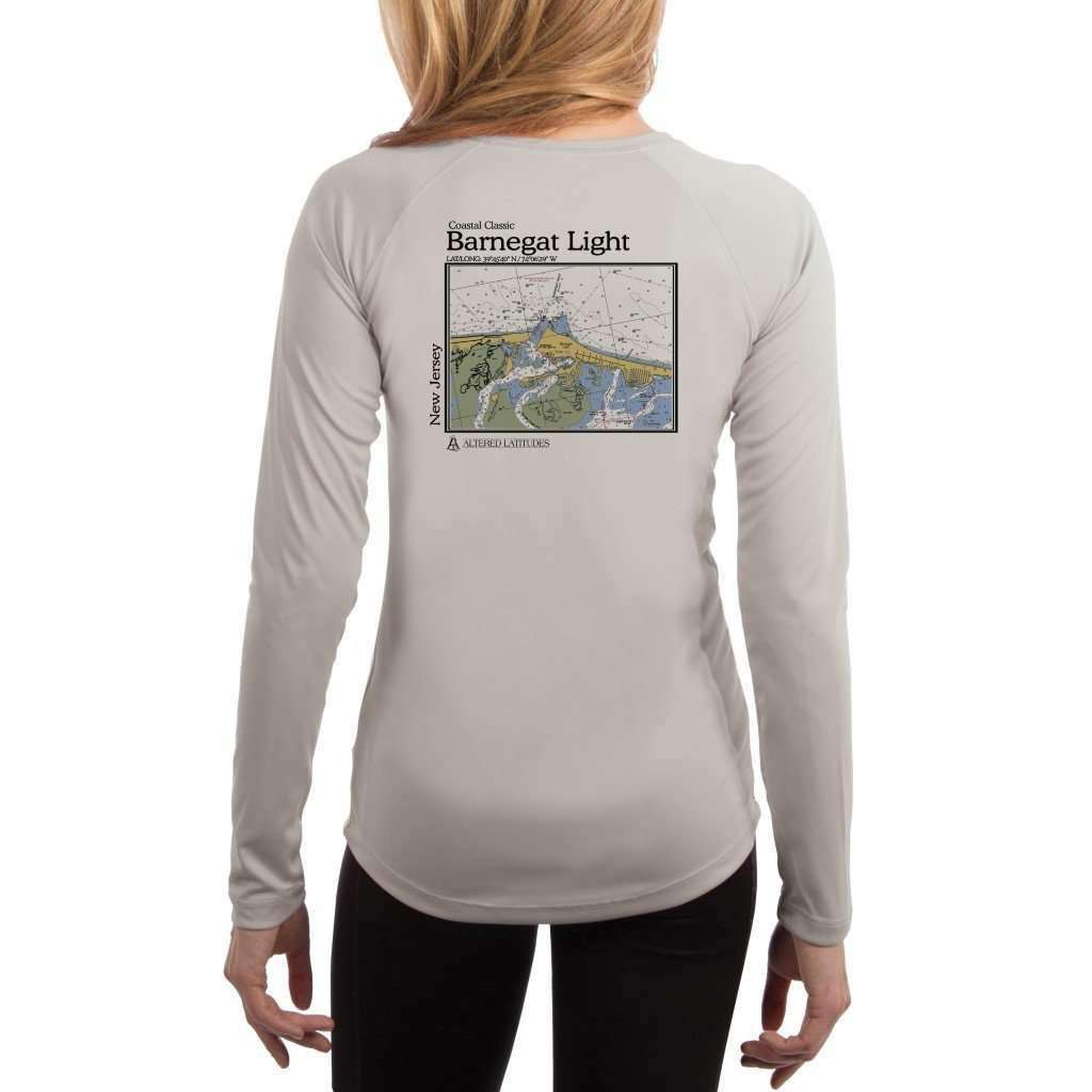 Coastal Classics Barnegat Light Women's UPF 50+ UV/Sun Protection Performance T-shirt