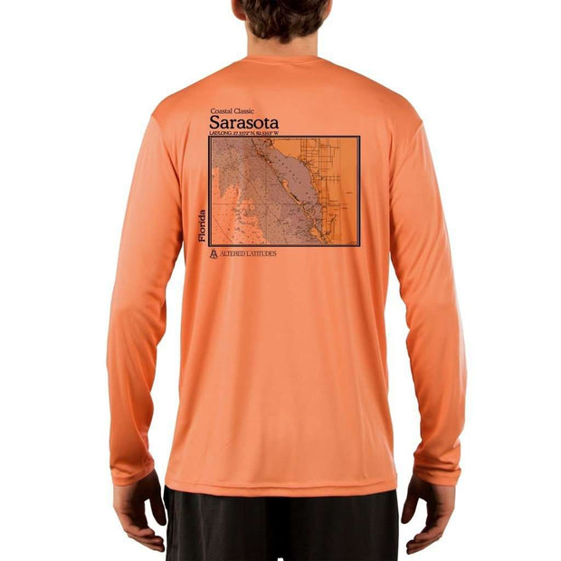 Coastal Classics Sarasota Mens Upf 5+ Uv/sun Protection Performance T-Shirt Shirt