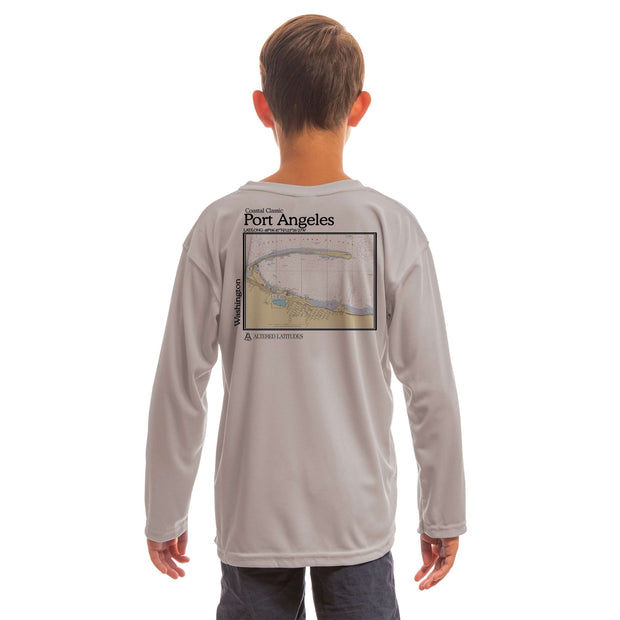 Coastal Classics Port Angeles Youth UPF 50+ UV/Sun Protection Long Sleeve T-Shirt