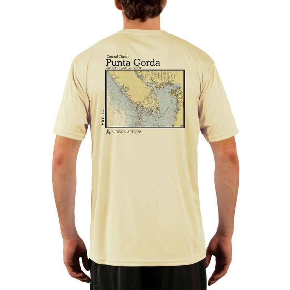 Coastal Classics Punta Gorda Mens Upf 5+ Uv/sun Protection Performance T-Shirt Pale Yellow / X-Small Shirt
