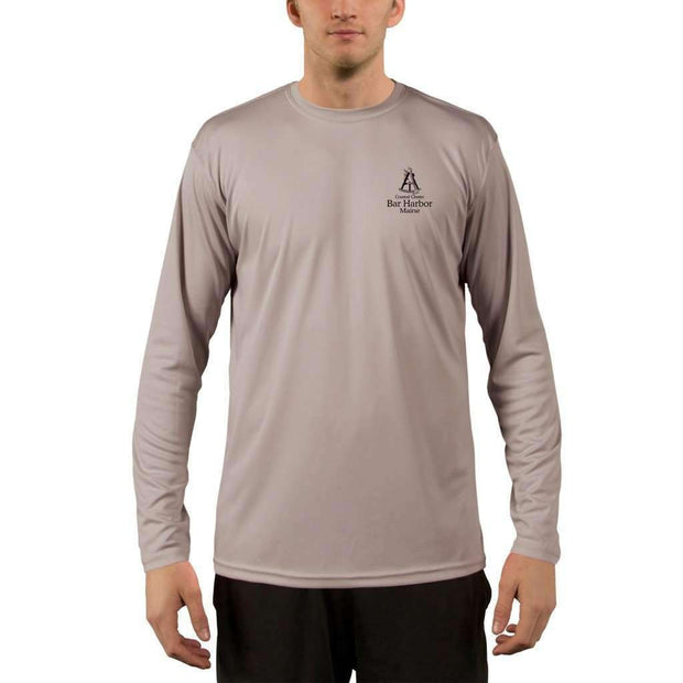 Coastal Classics Bar Harbor Mens Upf 5+ Uv/sun Protection Performance T-Shirt Shirt