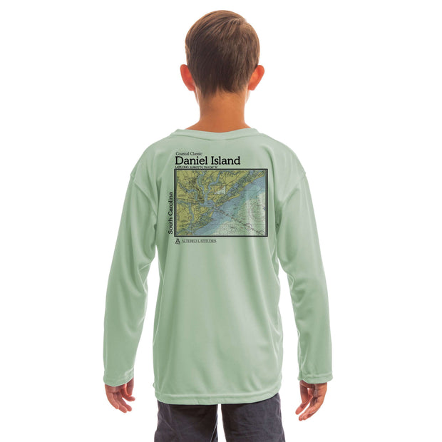 Coastal Classics Daniel Island Youth UPF 50+ UV/Sun Protection Long Sleeve T-Shirt - Altered Latitudes