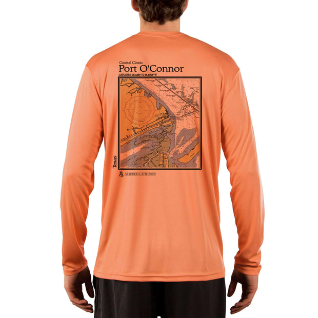 Coastal Classics Port O'Connor Men's UPF 50+ UV/Sun Protection Performance T-shirt