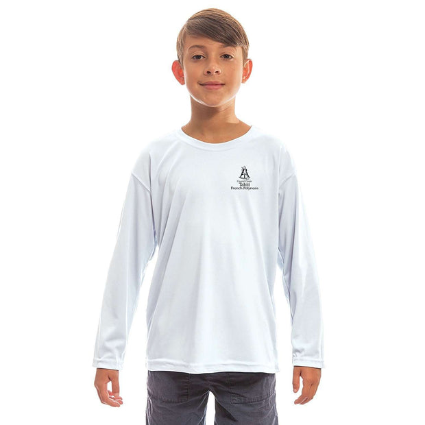 Altered Latitudes Coastal Classics Tahiti Youth UPF 50+ UV/Sun Protection Long Sleeve T-Shirt - Altered Latitudes
