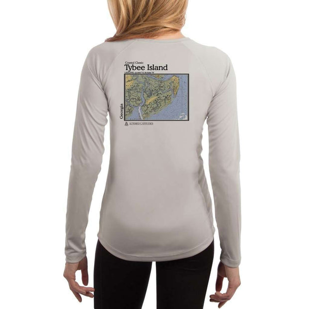 Coastal Classics Tybee Island Women's UPF 50+ UV/Sun Protection Performance T-shirt