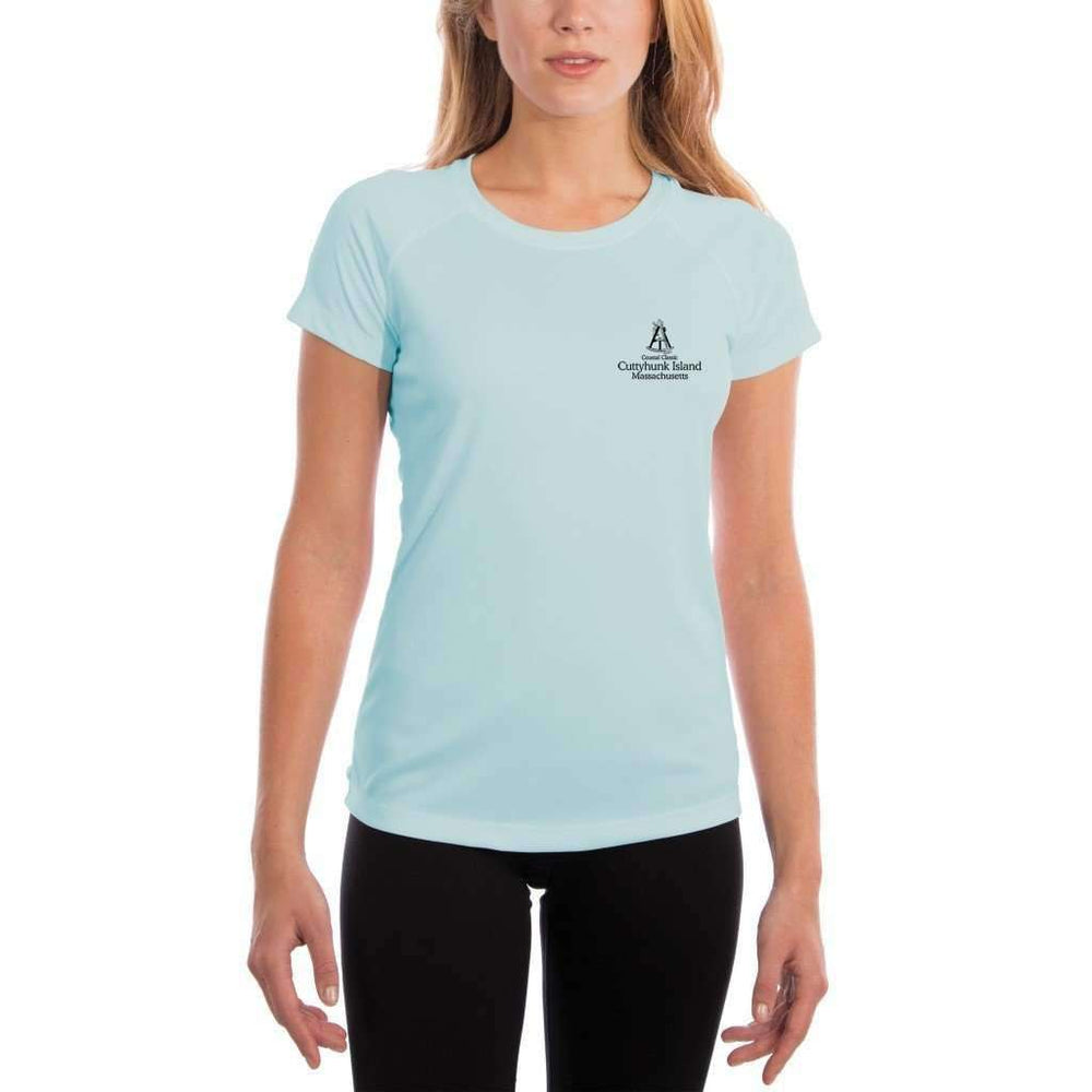 Coastal Classics Cuttyhunk Island Womens Upf 5+ Uv/sun Protection Performance T-Shirt Shirt
