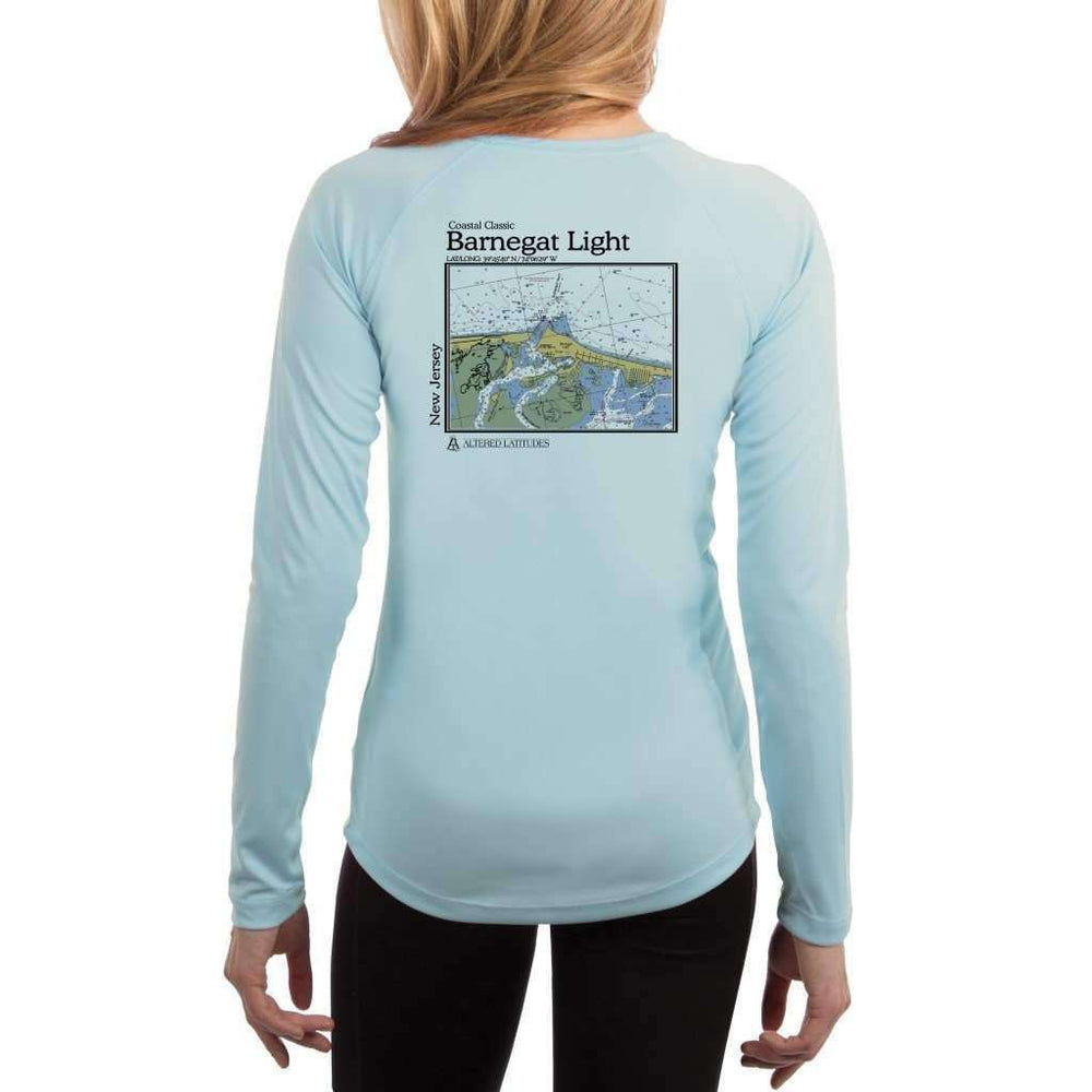 Coastal Classics Barnegat Light Women's UPF 50+ UV/Sun Protection Performance T-shirt - Altered Latitudes