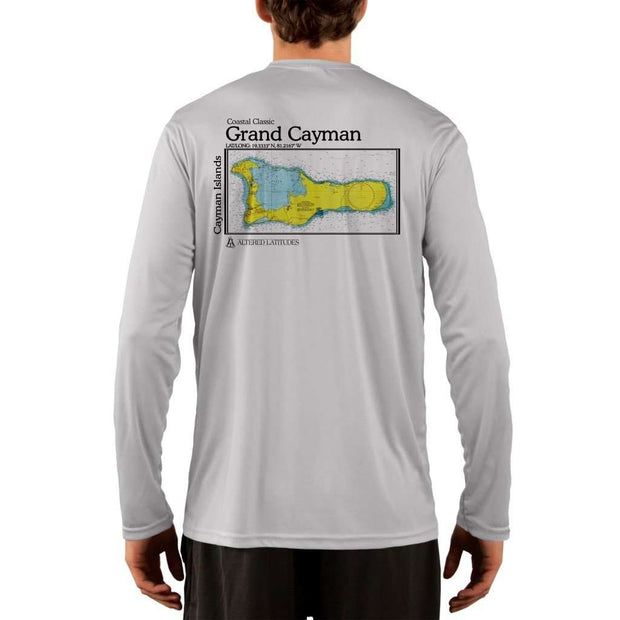 Coastal Classics Grand Cayman Mens Upf 5+ Uv/sun Protection Performance T-Shirt Pearl Grey / X-Small Shirt