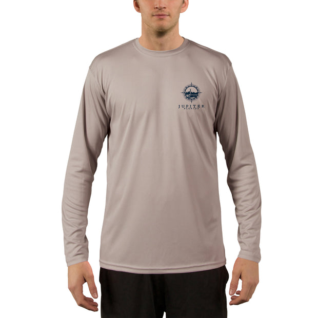 Compass Vintage Jupiter Men's UPF 50+ Long Sleeve T-Shirt