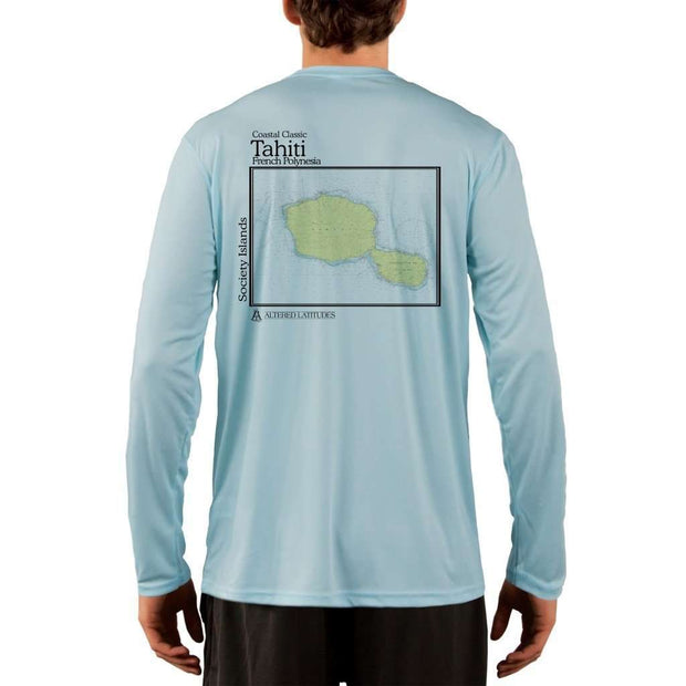 Coastal Classics Tahiti Men's UPF 50+ UV/Sun Protection Performance T-shirt - Altered Latitudes