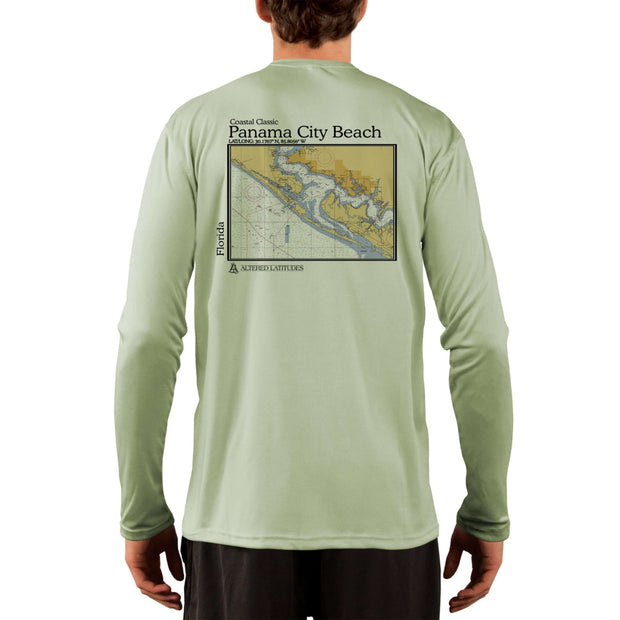 Coastal Classics Panama City Beach Men's UPF 50+ UV/Sun Protection Performance T-shirt