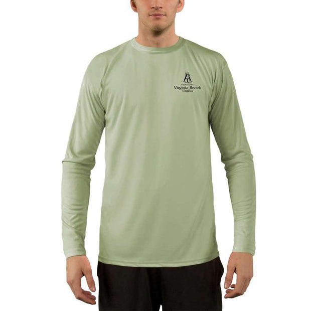 Coastal Classics Virginia Beach Men's UPF 50+ UV/Sun Protection Performance T-shirt