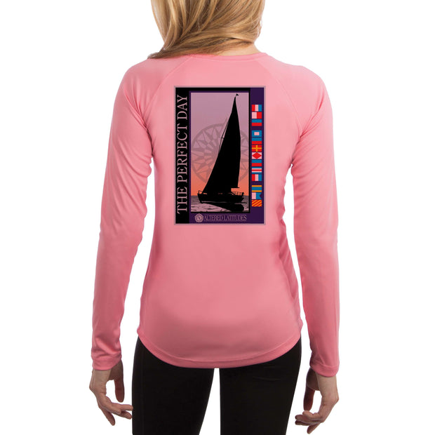 Perfect Day Perfect Day Women's UPF 50+ UV Sun Protection Long Sleeve T-shirt