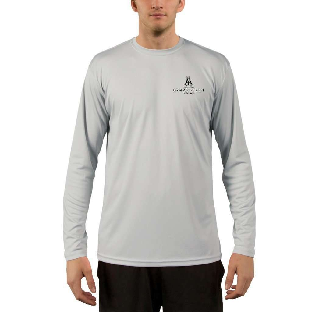 Coastal Classics Great Abaco Island Men's UPF 50+ UV/Sun Protection Performance T-shirt