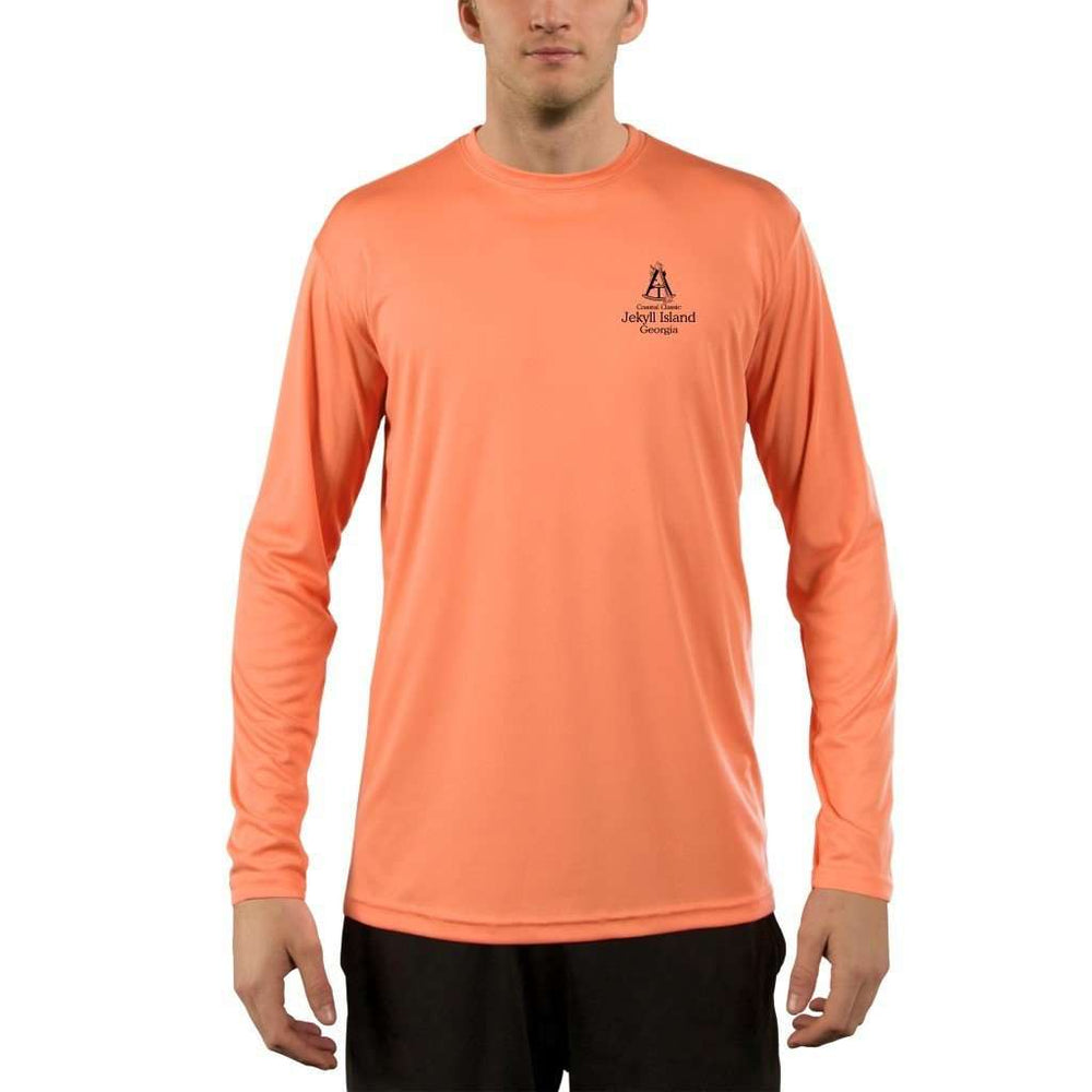 Coastal Classics Jekyll Island Mens Upf 5+ Uv/sun Protection Performance T-Shirt Shirt
