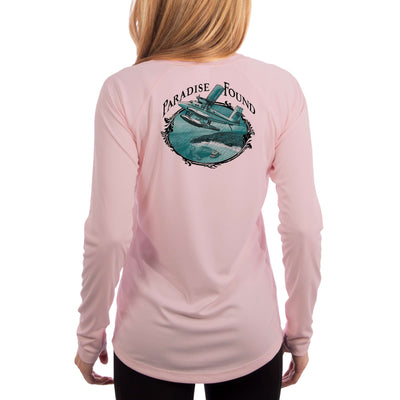 Island Lifestyle Paradise Found Women's UPF 50+ UV Sun Protection Long Sleeve T-shirt