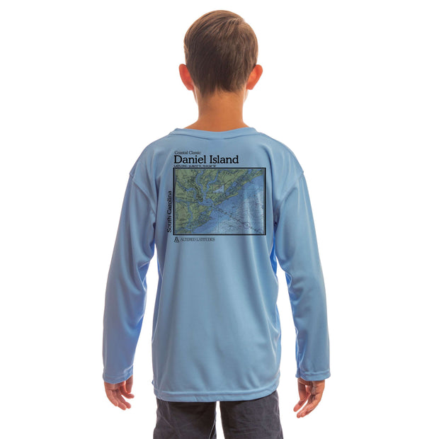 Coastal Classics Daniel Island Youth UPF 5+ UV/Sun Protection Long Sleeve T-Shirt - Altered Latitudes