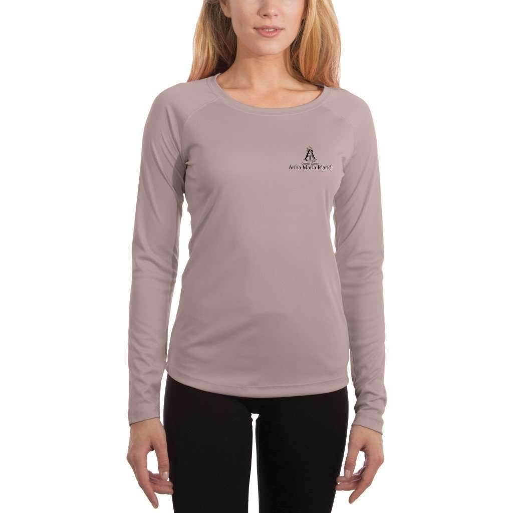 Coastal Classics Anna Maria Island Womens Upf 50+ Uv/sun Protection Performance T-Shirt Shirt