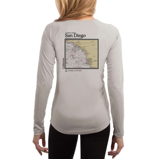 Coastal Classics San Diego Women's UPF 50+ UV/Sun Protection Performance T-shirt
