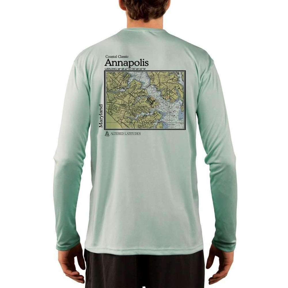 Coastal Classics Annapolis Mens Upf 5+ Uv/sun Protection Performance T-Shirt Seagrass / X-Small Shirt