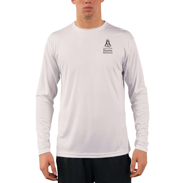 Coastal Classics Exuma Bahamas Men's UPF 50+ Long Sleeve T-Shirt - Altered Latitudes