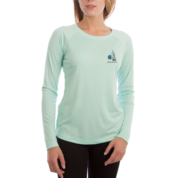Island Lifestyle Wanderlust Women's UPF 5+ UV Sun Protection Long Sleeve T-shirt - Altered Latitudes