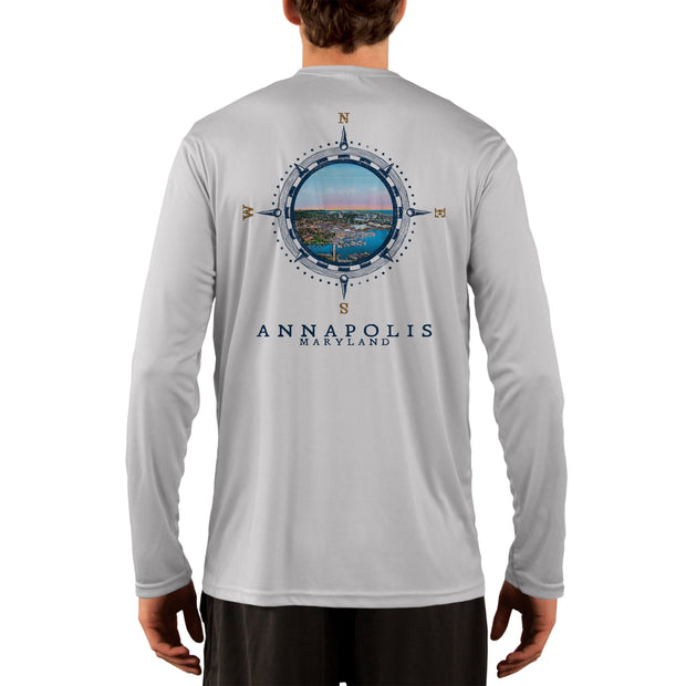 Compass Vintage Annapolis Men's UPF 50+ Long Sleeve T-Shirt