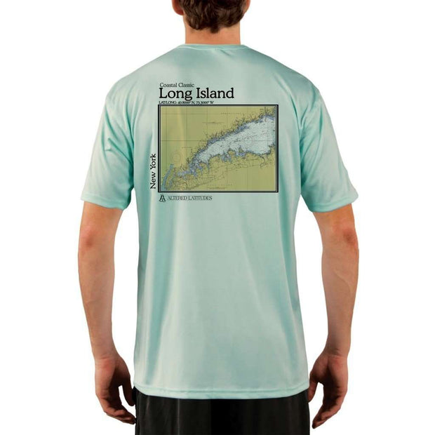 Coastal Classics Long Island Mens Upf 5+ Uv/sun Protection Performance T-Shirt Seagrass / X-Small Shirt