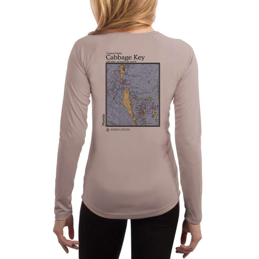 Coastal Classics Cabbage Key Womens Upf 5+ Uv/sun Protection Performance T-Shirt Athletic Grey / X-Small Shirt