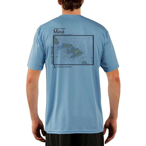 Coastal Classics Duck Key Men's UPF 50+ UV/Sun Protection Performance T-shirt