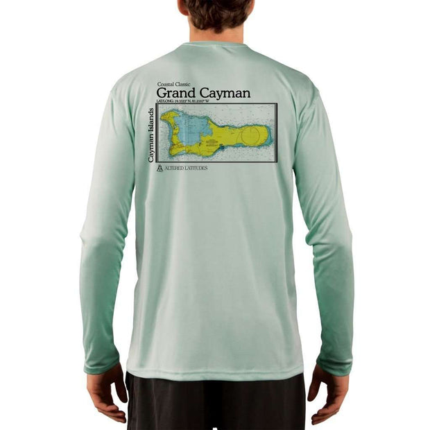 Coastal Classics Grand Cayman Mens Upf 5+ Uv/sun Protection Performance T-Shirt Seagrass / X-Small Shirt
