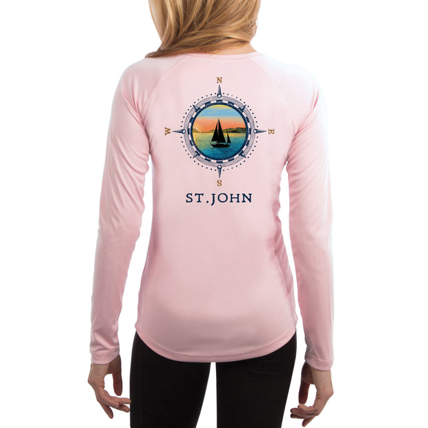 Compass Vintage St.John Women's UPF 50+ Long Sleeve T-shirt