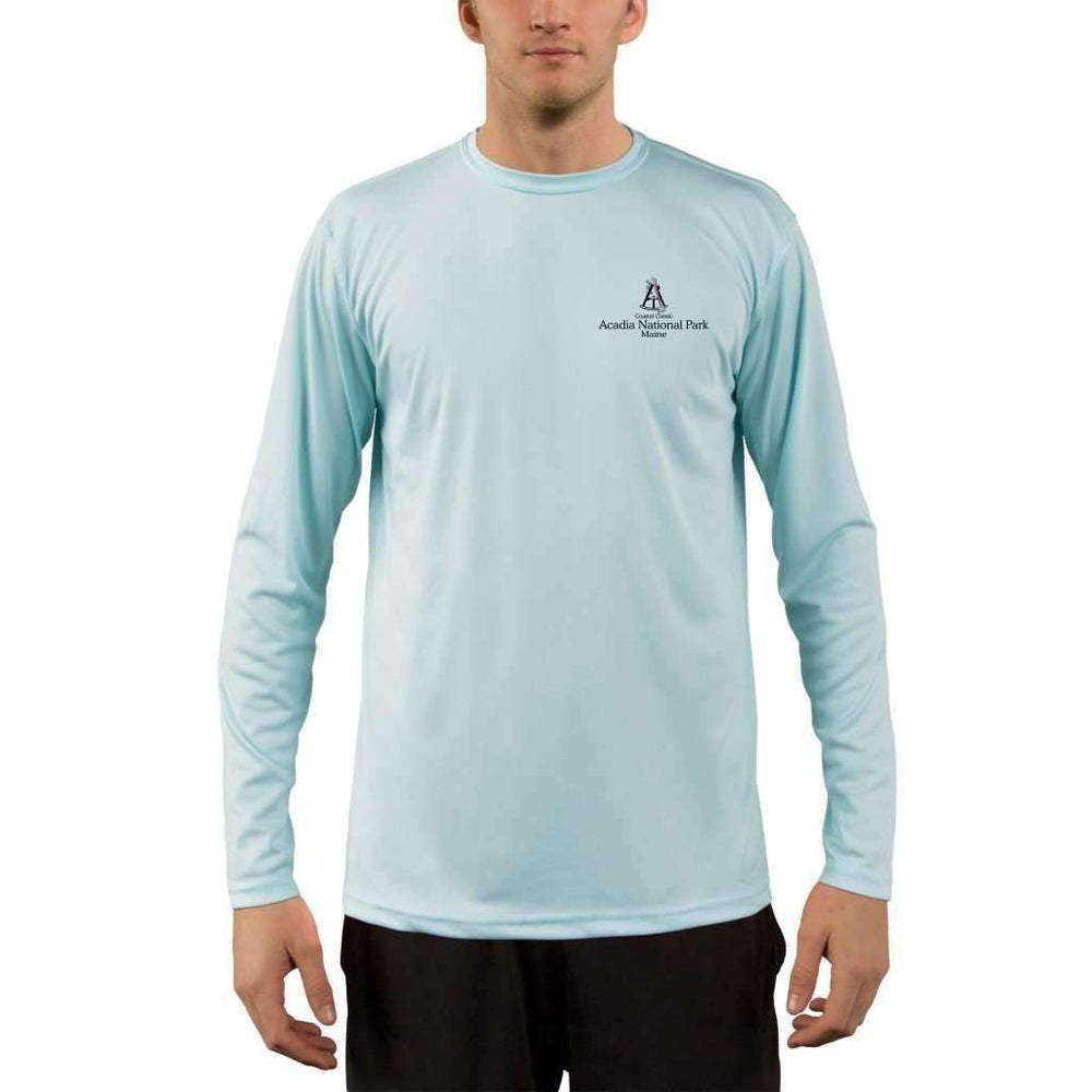Coastal Classics Acadia National Park Men's UPF 50+ UV/Sun Protection Performance T-shirt - Altered Latitudes