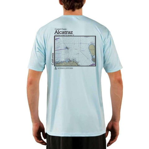 Coastal Classics Bar Harbor Men's UPF 50+ UV Sun Protection Short Sleeve T-shirt