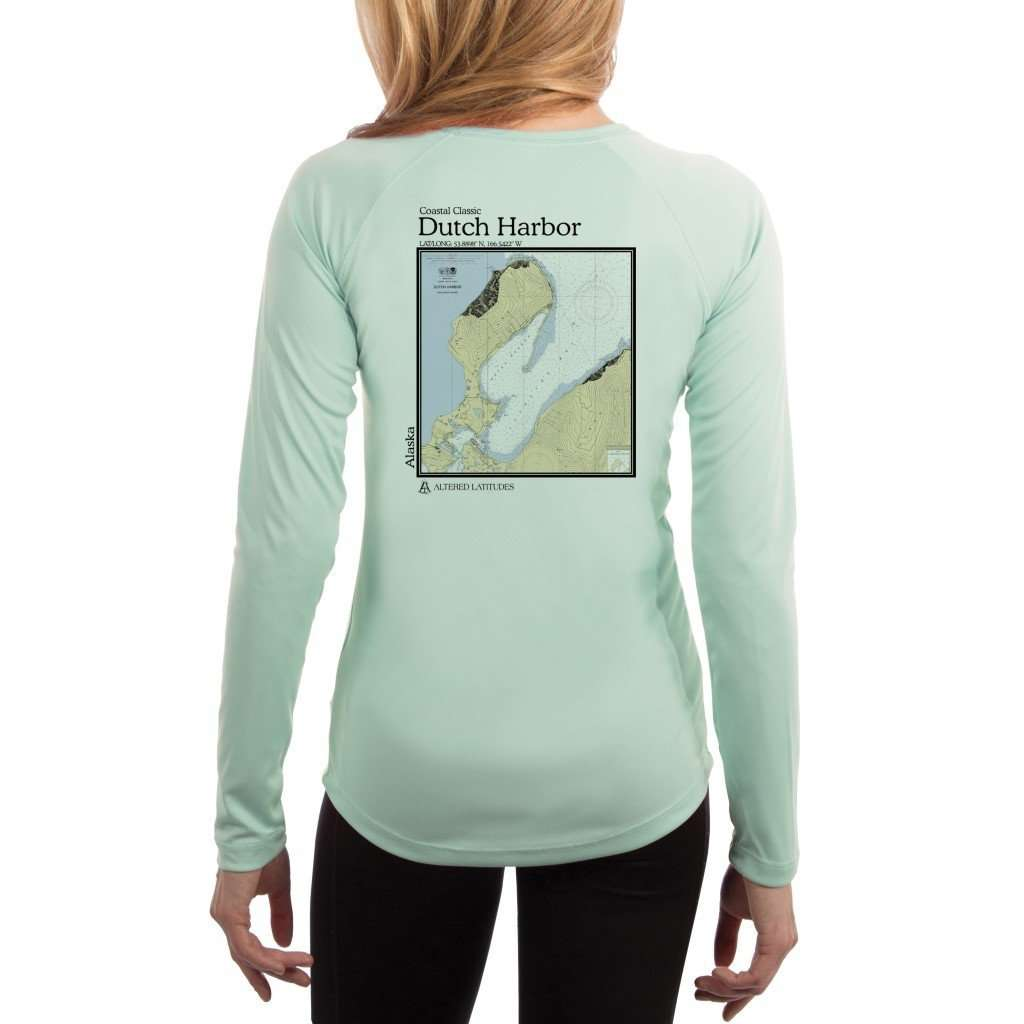 Coastal Classics Dutch Harbor Womens Upf 50+ Uv/sun Protection Performance T-Shirt Seagrass / X-Small Shirt