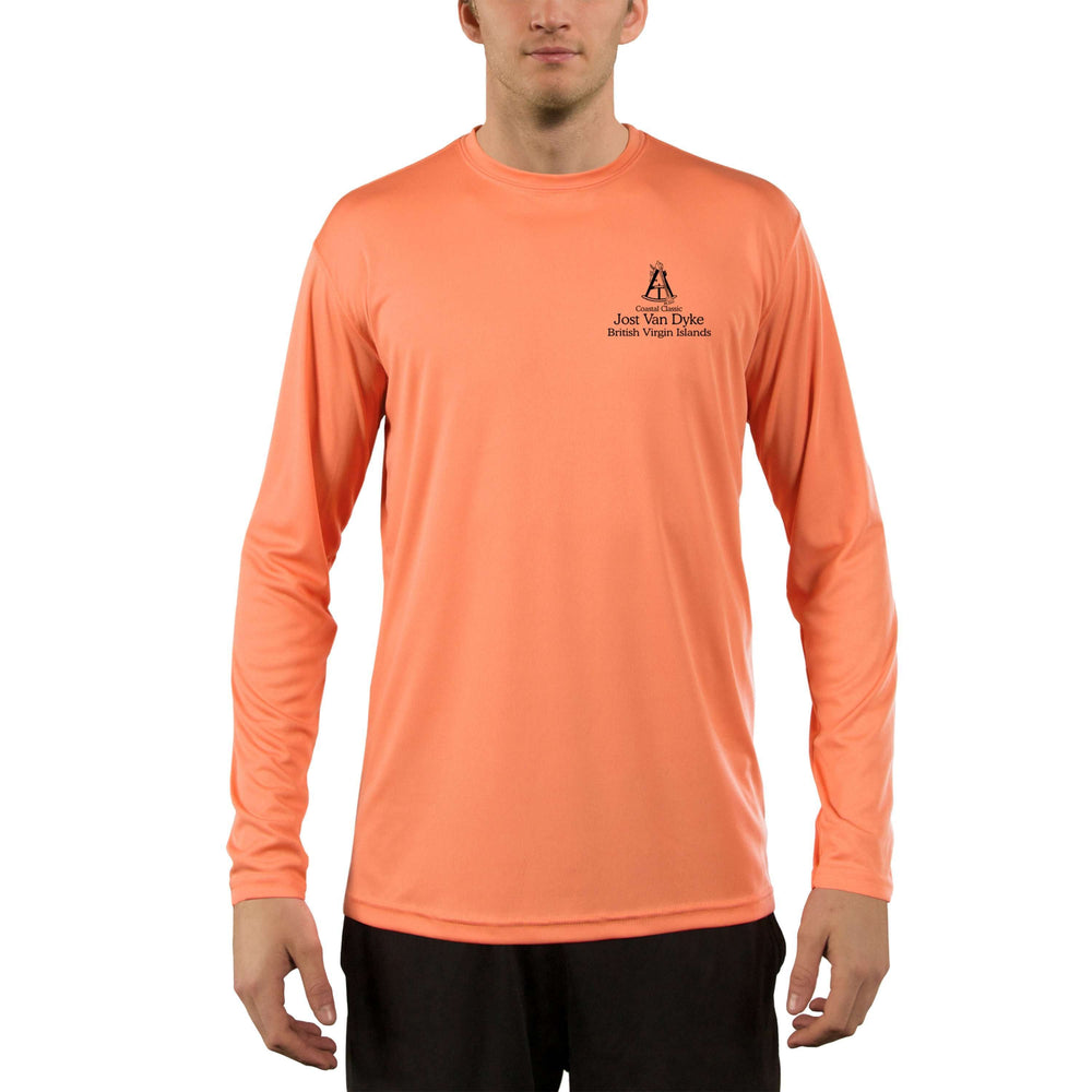 Coastal Classics Jost Van Dyke Men's UPF 50+ UV/Sun Protection Performance T-shirt