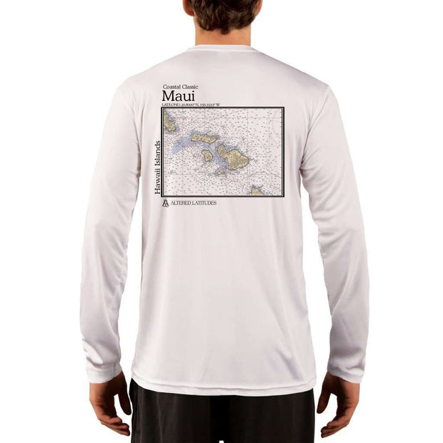 Coastal Classics Maui Mens Upf 5+ Uv/sun Protection Performance T-Shirt White / X-Small Shirt