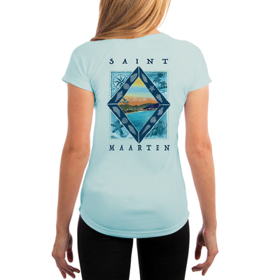 Coastal Quads Saint Maarten Women's UPF 50+ Short Sleeve T-shirt