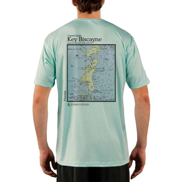 Coastal Classics Key Biscayne Mens Upf 5+ Uv/sun Protection Performance T-Shirt Seagrass / X-Small Shirt